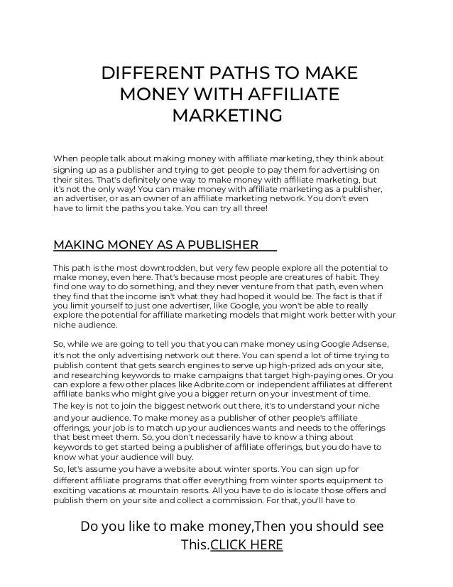 Making 1000$ with affiliate marketing.pdf Slide 2