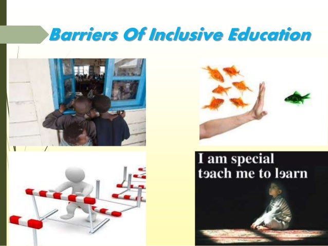 the benefits of inclusive education on disabled student Who benefits from inclusive education students with developmental disabilities who have of typical students recognize the benefits of inclusion more.