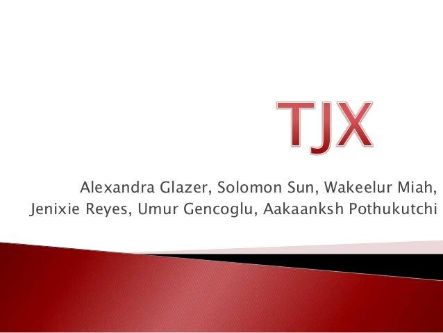Alexandra Glazer, Solomon Sun, Wakeelur Miah,Jenixie Reyes, Umur Gencoglu, Aakaanksh Pothukutchi