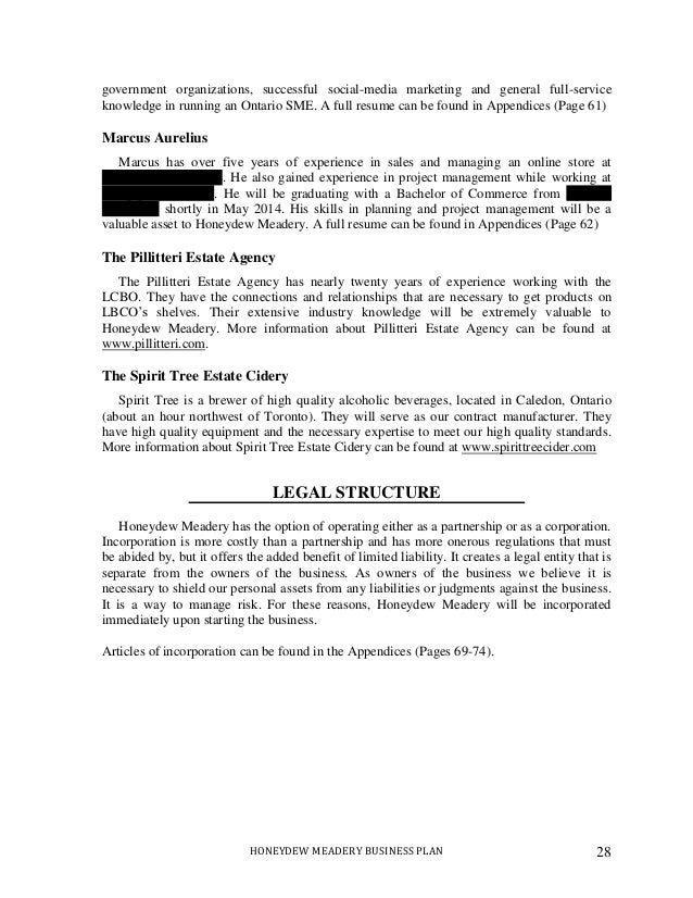 cover letter sample for lcbo