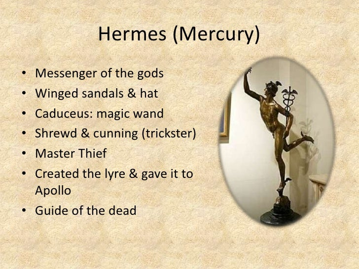 hermes the trickster With what trickster god does hermes have the most in common.