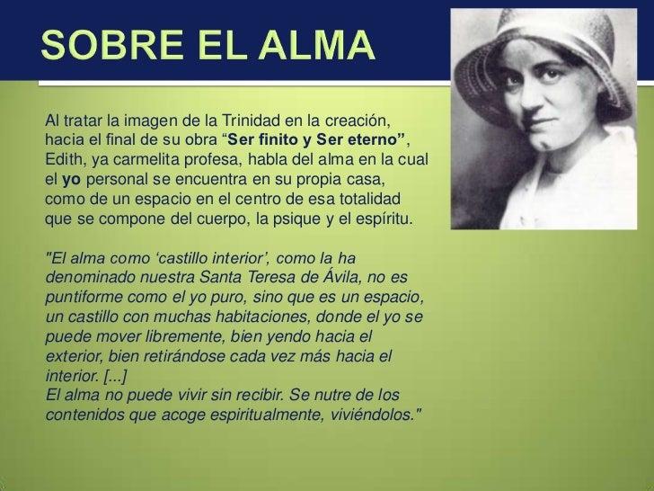 Edith Stein Fenomenología Neotomismo Y Personalismo