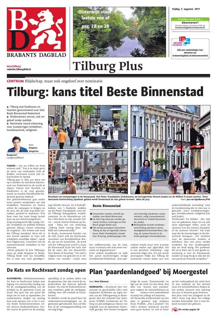 Vrijdag 5 augustus 2011                                                                                       Oisterwijk s...