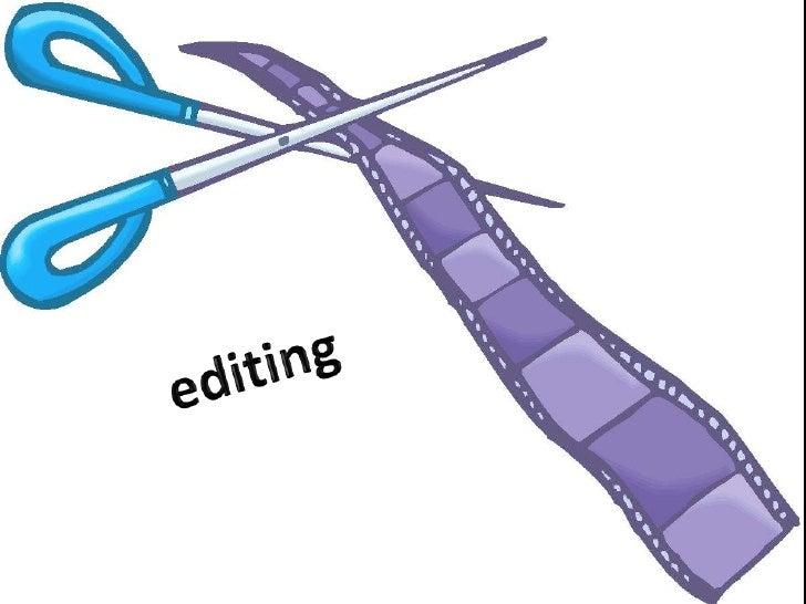 editing<br />