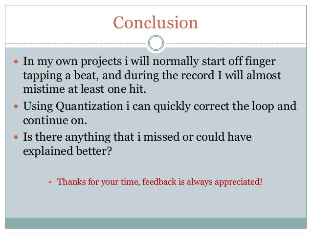 how do you start off a conclusion