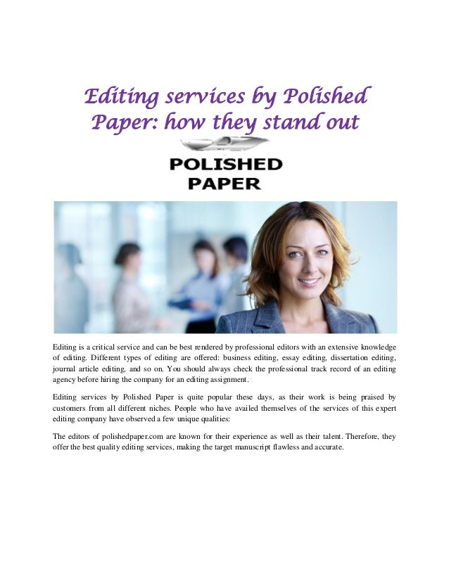 English Language Editing Services for all Your Publication Needs