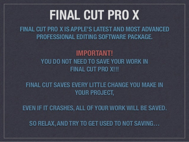 Amazon.com: Editing Techniques with Final Cut Pro (2nd ...