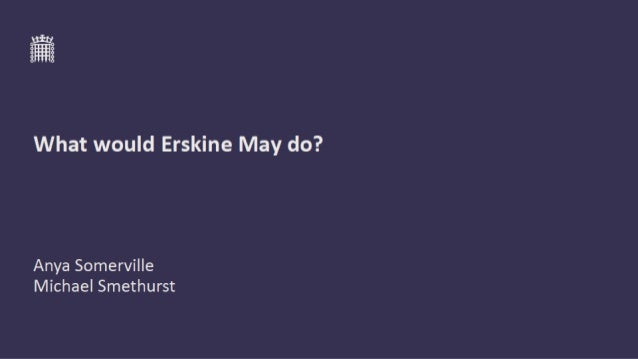 Picture of Erskine May (the man)