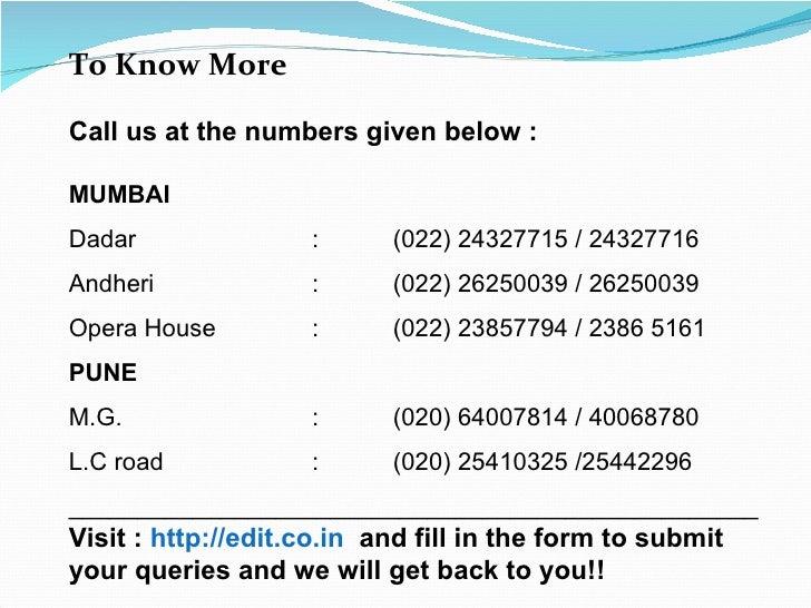 Learn editing in mumbai