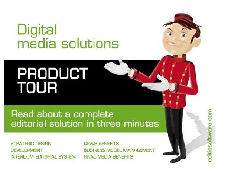 Digital media solutions for publishers