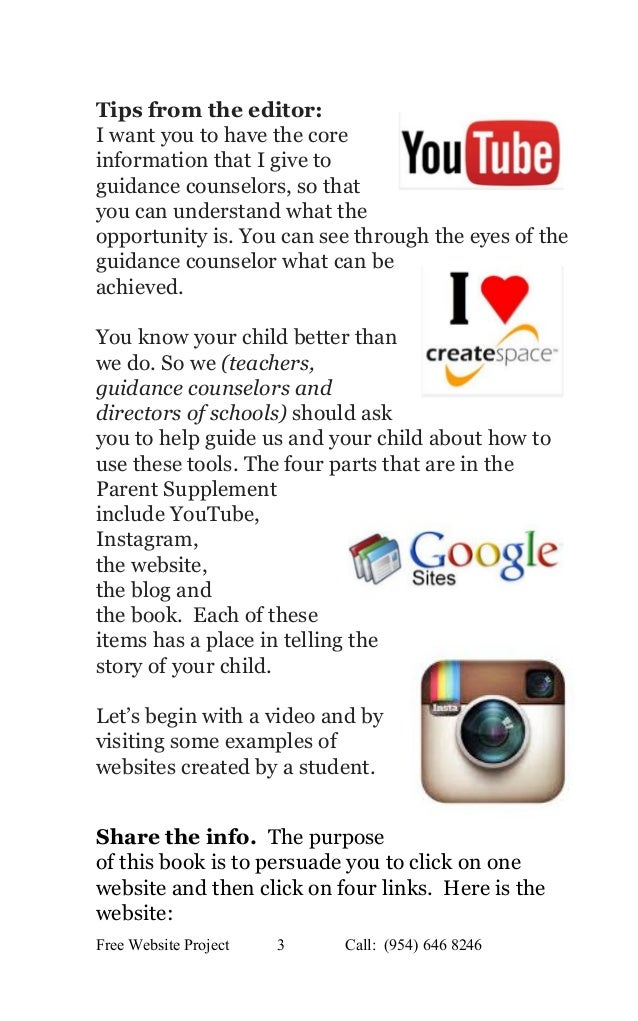 Edition 2 the parent's guide to digital portfolios and free websites Slide 3