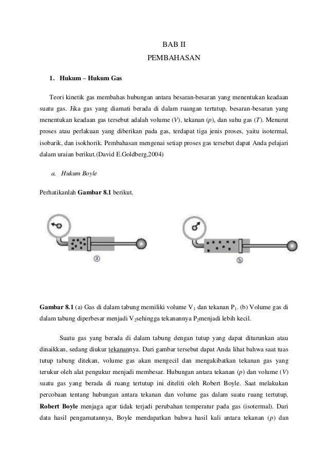 Hukum Gas dan Hubungan Volume Gas dari Persamaan Reaksi