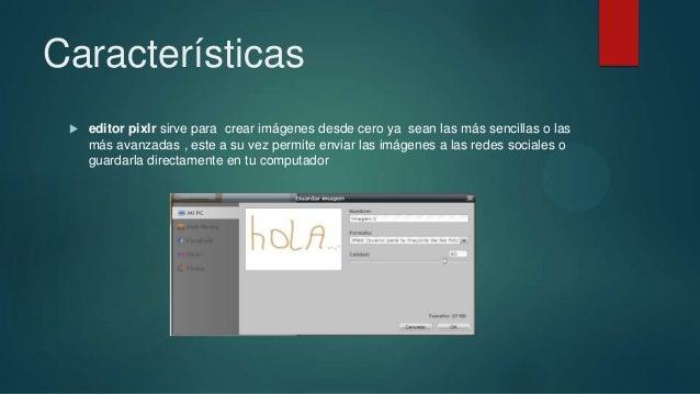 Editor de imagen online pixlr Slide 3