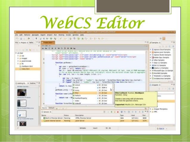 editor de paginas web