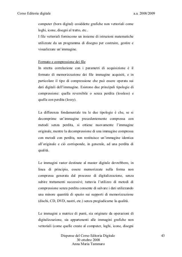 Corso Editoria digitale a.a. 2008/2009computer (born digital) cosiddette grafiche non vettoriali comeloghi, icone, disegni...