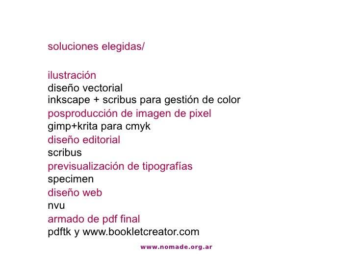 Flujo de trabajo de dise o editorial con software libre for Diseno editorial pdf