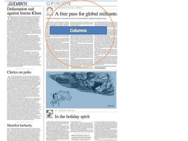 editorial column name ideas