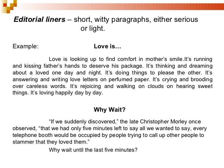 write a short essay about love Papers about short stories, also called literary analysis essays, allow writers to explain the basic elements of the story and make a deeper statement about the plot, characters, symbolism or theme writing such an analysis lets you learn more about the story and gain an appreciation of literature.