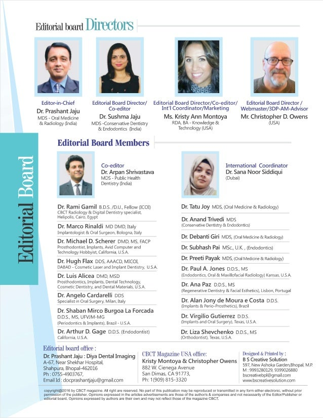 Editorial board 2019 issue 1