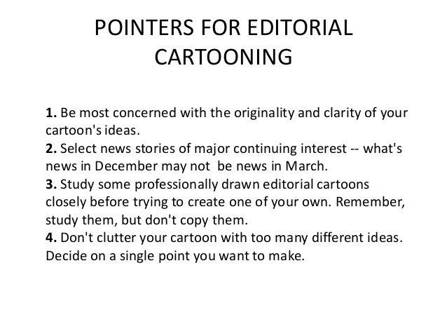Editorial Cartooning