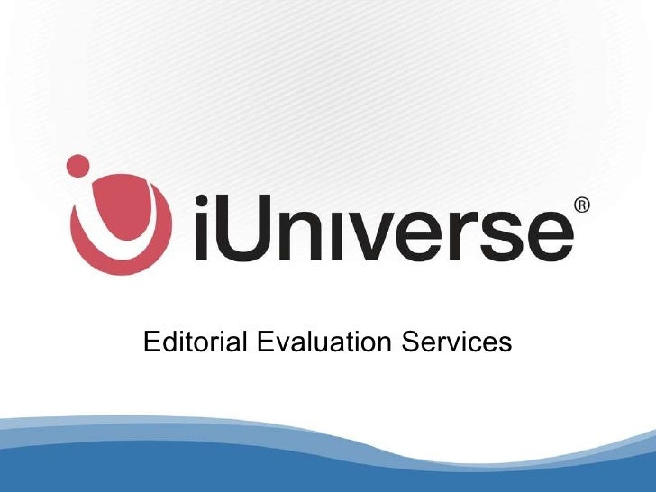 Editorial Evaluation Services