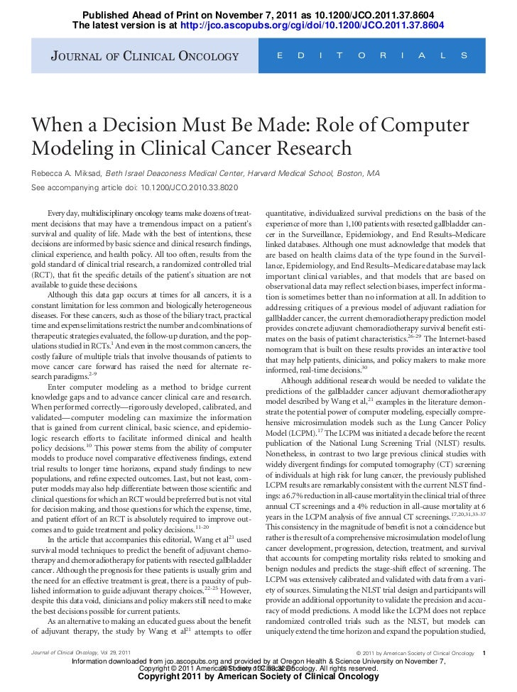 Published Ahead of Print on November 7, 2011 as 10.1200/JCO.2011.37.8604                 The latest version is at http://j...