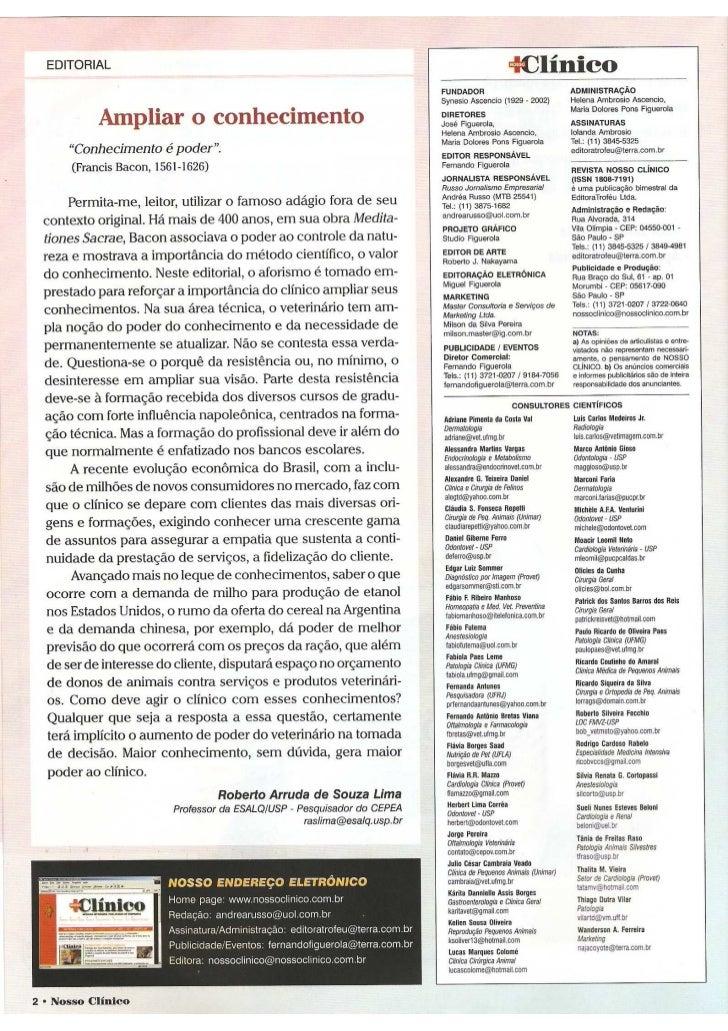 Editorial n. clinico n.80 (mar abr 2011)