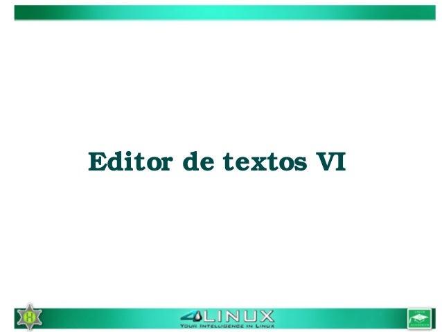 EditordetextosVI
