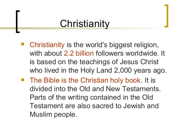 the inception of the islamic religion in relations to judaism and christianity Free essays from bartleby | 1 god to the people of the big three monotheist religions (judaism, christianity, islam) see god as an all-knowing, all-seeing  home page essay on islam religion essay on islam religion.