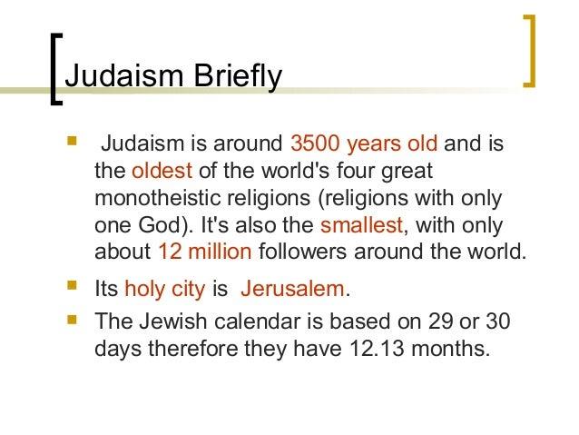 Judaism Study Essay
