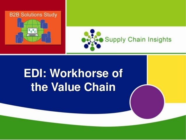 EDI: Workhorse of the Extended Supply Chain