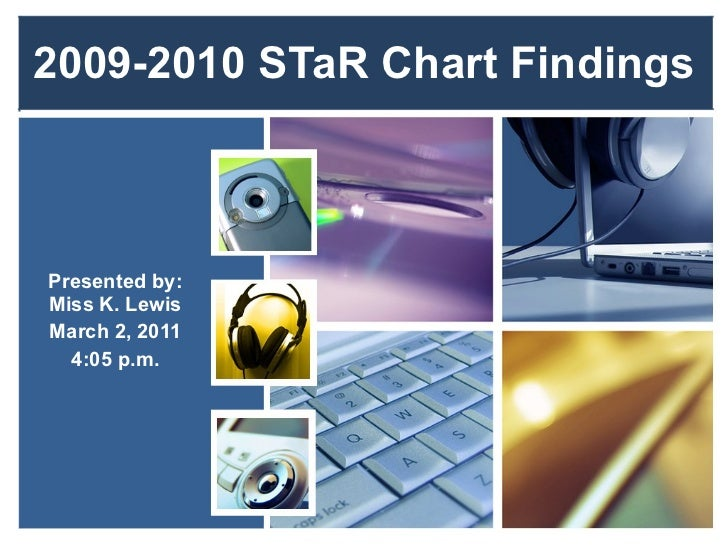 2009-2010 STaR Chart Findings Presented by: Miss K. Lewis March 2, 2011 4:05 p.m.