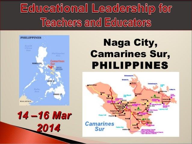 Naga City, Camarines Sur, PHILIPPINES  14 –16 Mar 2014