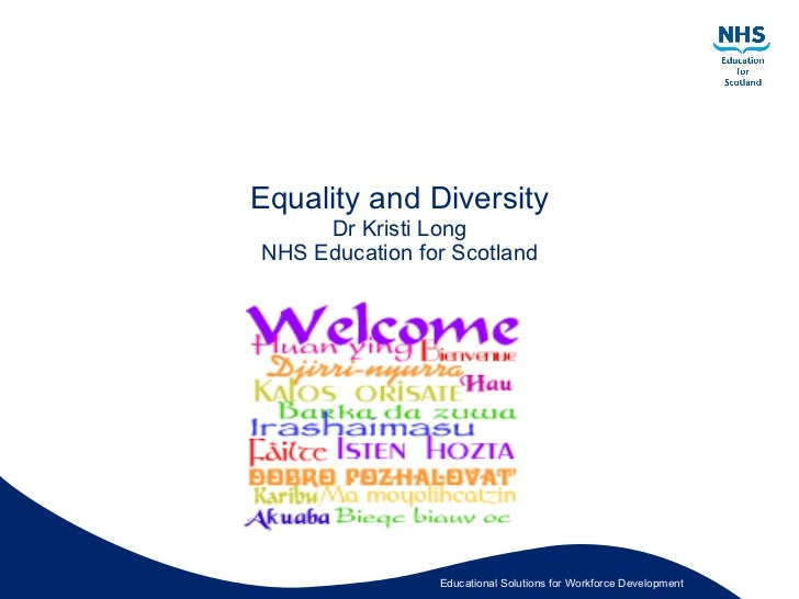 Equality diversity unit 1 ncf2
