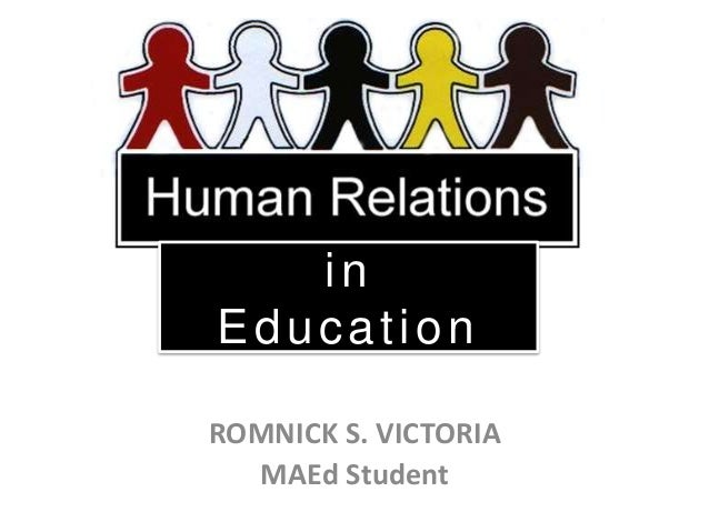 in Education ROMNICK S. VICTORIA MAEd Student