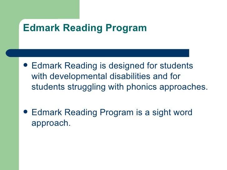 Edmark power point – Edmark Reading Program Worksheets