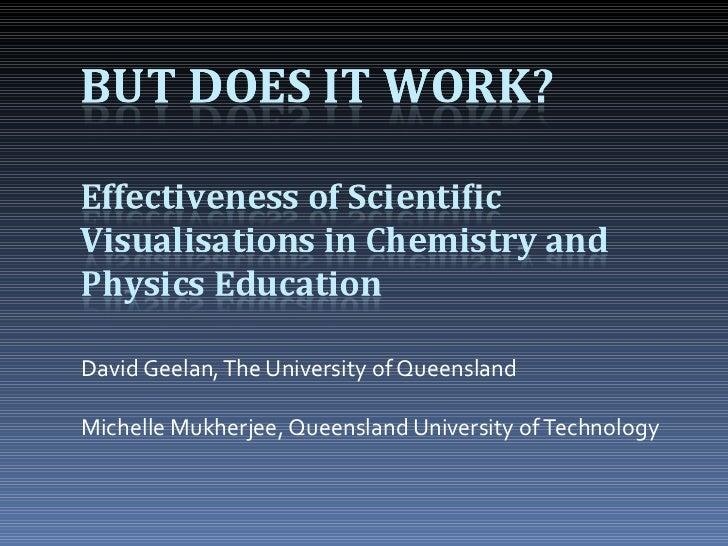 David Geelan, The University of Queensland Michelle Mukherjee, Queensland University of Technology