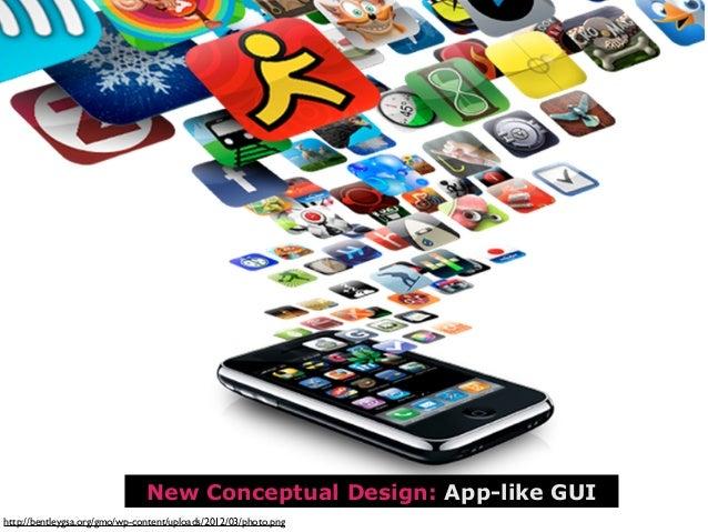 TextMain new GUI Elements:Spaces (Personal Desktops)Space ManagementWidget StoreSettings