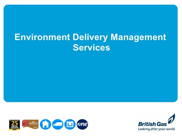 Environment Delivery Management            Services