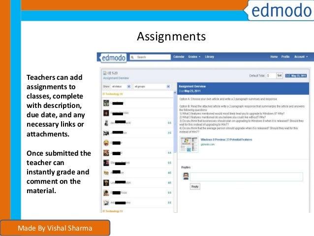 Edmodo app Tutorial For Students