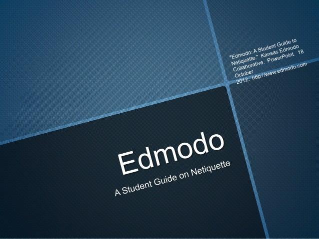 Edmodo gives you an online classroom....