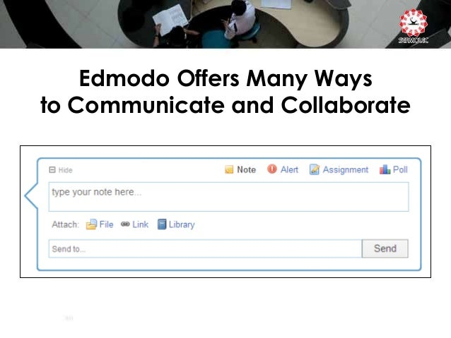 how to get out of a group on edmodo
