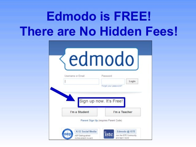 Edmodo presentation file edmodo is free there are no hidden fees stopboris Gallery