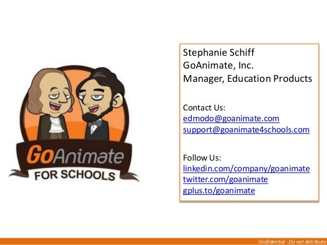 How To Use The GoAnimate for Schools App on Edmodo