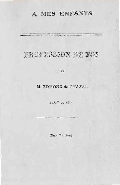 Edmond de-chazal-profession-de-foi-a-mes-enfants-1857-reponse-a-monseigneur-l'eveque-de-port-louis-maurice-1858