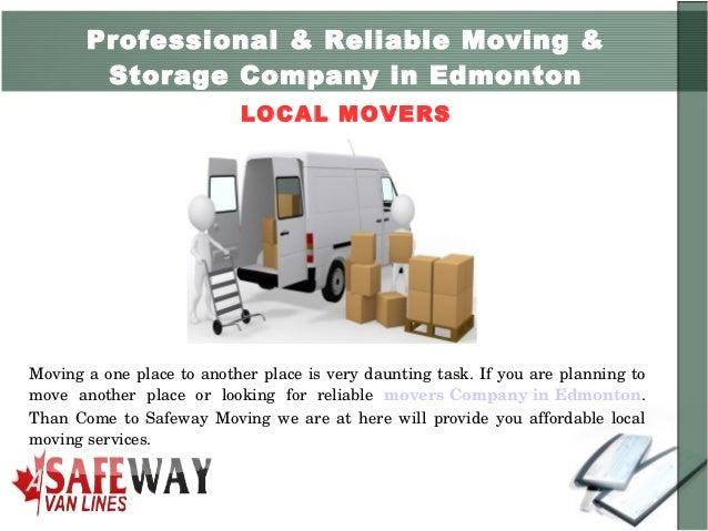Marvelous ... 2. Professional U0026 Reliable Moving U0026 Storage Company In Edmonton LOCAL  ...
