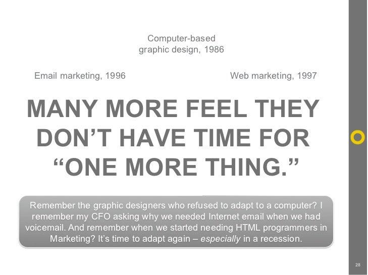 Computer-based                           graphic design, 1986    Email marketing, 1996                          Web market...