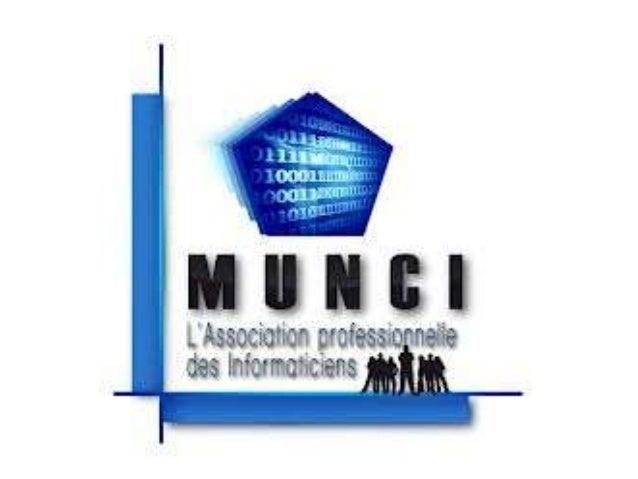 SOMMAIRE: -Présentation Munci -Juridictions Prud'homales -Autorité Compétente