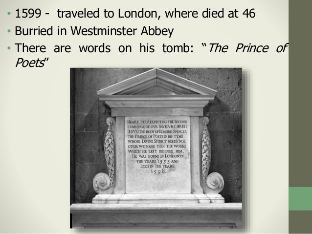 Poets' coffins in Westminster Abbey
