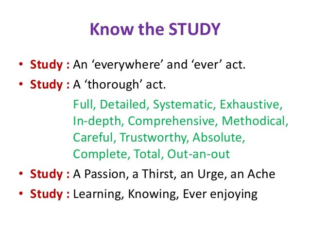 Techniques for Effective Self-Study Slide 2